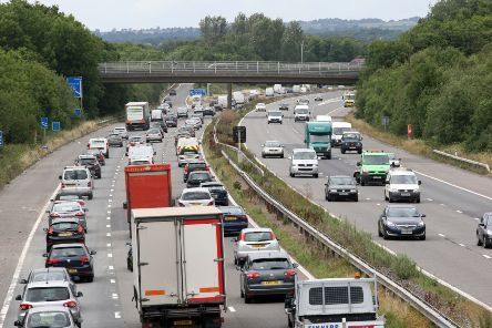 Road works are scheduled on the M23 this week