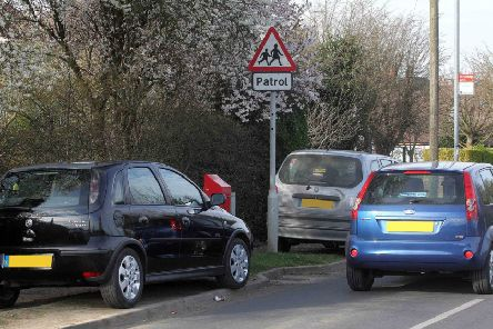 Concerns have been raised about the number of illegally parked cars around Crawley schools