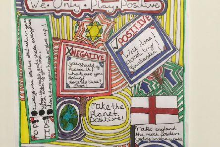 One of the winning posters