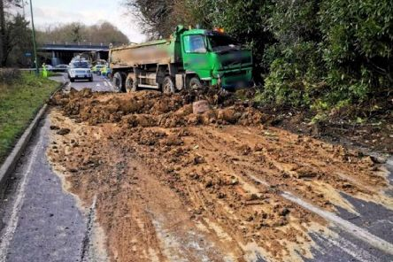 Police are appealing for witnesses to the incident on the A272.''Picture: Sussex Police