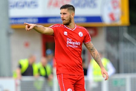 Crawley Town defender Tom Dallison. Picture by Steve Robards