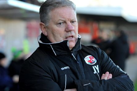 John Yems was pleased with his side's performance after a goalless draw against Carlisle. Photo: Steve Robards