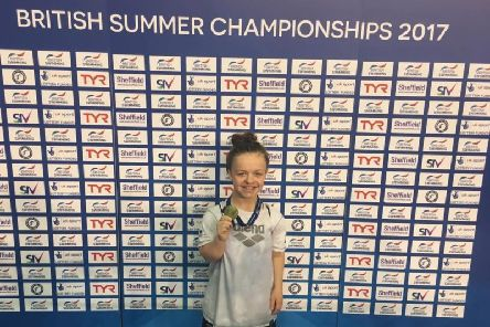 Maisie Summers-Newton is on the shortlist for the BBC Young Sports Personality of the Year award