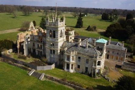 Overstone Hall was heavily damaged in a 2001 fire
