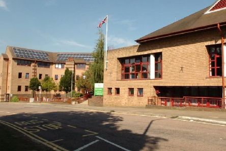The youth council motion was discussed at the district council offices on Lodge Road
