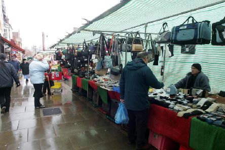 Daventry market in 2006