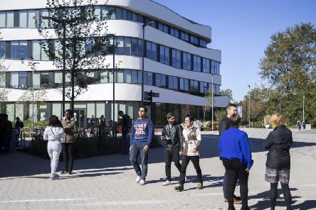 The university says a department restructure has led to 14 redundancies.