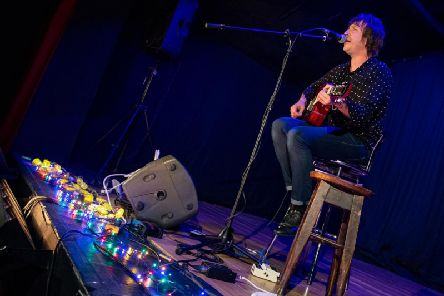 Andy Crofts played two sold-out acoustic shows at The Playhouse Theatre in Northampton over the weekend (Pictures David Jackson)