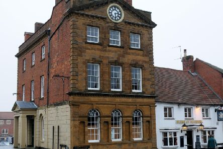 The Moot Hall in Daventry town centre is to become a children's nursery