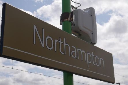 Rail passengers at Northampton station are complaining about feeling the cold as temperatures plummet