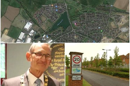 There is a proposal to close the A361 between the Northern Way roundabout and Middlemore estate, which Cllr David James (pictured) is against. Photo: Google and JPI Media