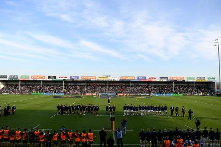 Sandy Park will stage Saints' Champions Cup quarter-final