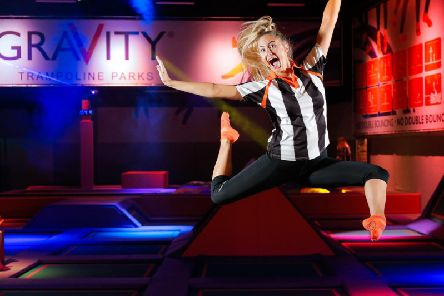 Bounce to your heart's content at Gravity in Northampton