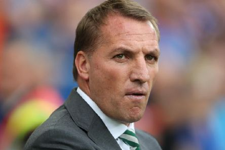Celtic manager, Brendan Rodgers.