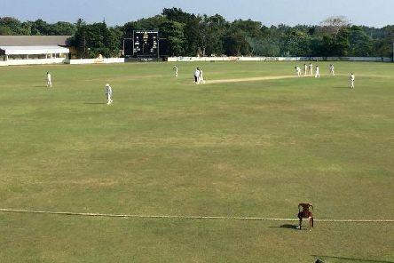 Ireland Wolves playing Sri Lanka PB side