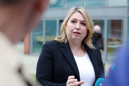 Karen Bradley. (Kelvin Boyes / Press Eye.)