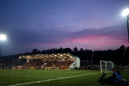 The Ryan McBride Brandywell Stadium was packed to the rafters as Derry City lost narrowly to Shamrock Rovers.