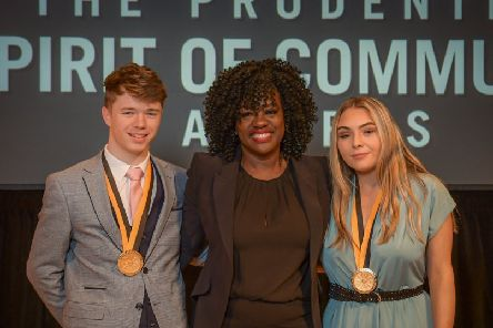 Kayla honoured at special awards ceremony in Washington D.C