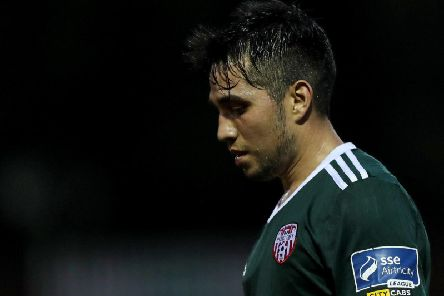 Derry City midfielder, Gerardo Bruna reckons the pressure is on the Candy Stripes to deliver three points from the north west derby.