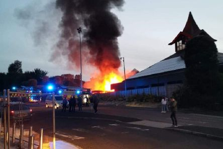 Holy family fire.