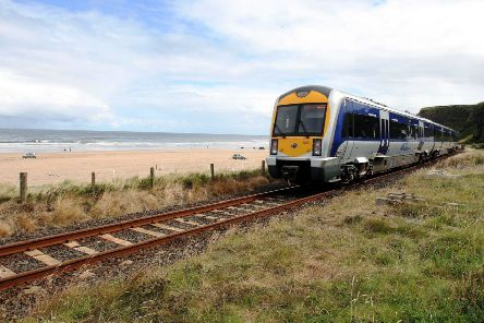 The Derry train.