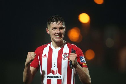 Eoin Toal has emerged as a key player for Declan Devine's Derry City this season.