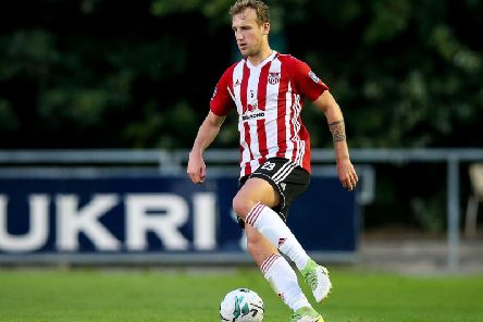 Derry City's Ally Gilchrist happy to sign up for 2020.