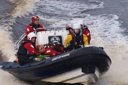 Foyle Search and Rescue saved the person from the River Foyle on Friday morning. (Library Image)