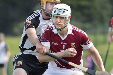 Steafan McCloskey was superb for Banagher in SUnday's disappointing Ulster club defeat to Naomh Eanna.