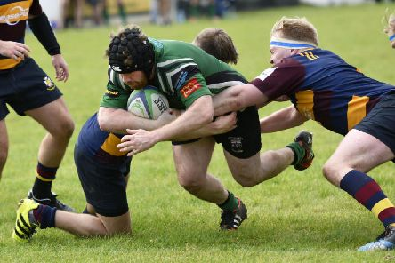 City of Derry captain David Ferguson will be back to face Omagh in this weekend's big Ulster derby.