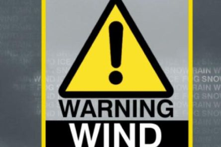 The warning is valid up until 8.00pm on Thursday.