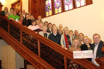 Some of those who attended a meeting opposed to changes to breast cancer services at Craigavon Area Hospital.