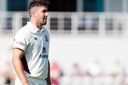 Ben Sanderson added another wicket to his tally on day two (picture: Kirsty Edmonds)
