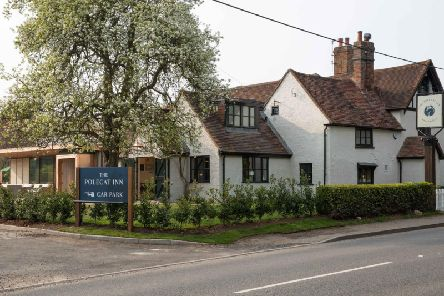 The reinvented Polecat Inn, Prestwood Bucks