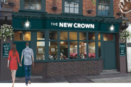 Work is starting on The Crown in Dunstable