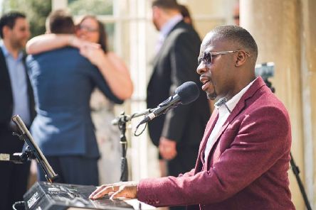 James Junior, The Piano Singer, specialises in providing soulful piano and vocal renditions of well loved songs.