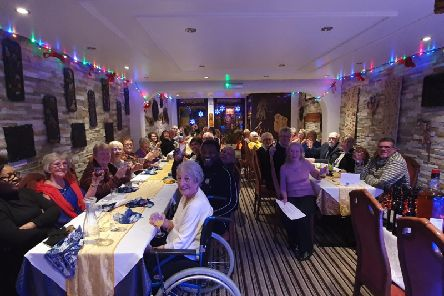 Volunteers from Hospice at Home Dunstable and surrounding areas were treated to a meal at Coconut Garden to thank them for the work they do