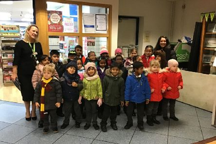 The Ferrars Academy School Choir were spreading festive joy last week