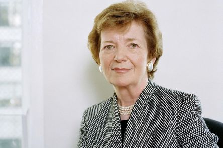 Mary Robinson. Picture by Jurgen Frank