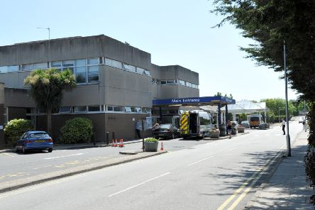 Eastbourne DGH, District General Hospital