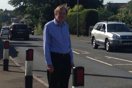 County Councillor for Langney, Alan Shuttleworth, has led the campaign for a new crossing in Friday Street