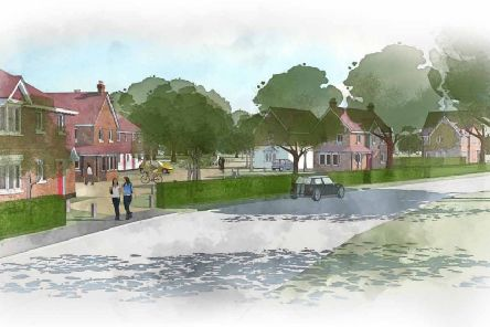 Plans for 400 homes being put forward by Gleeson and Rydon south of Hailsham