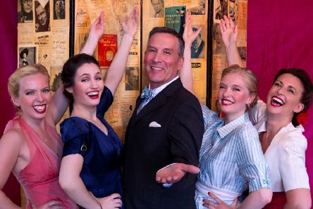 James Gaddas stars in Me and the Girls at Devonshire Park Theatre, Eastbourne