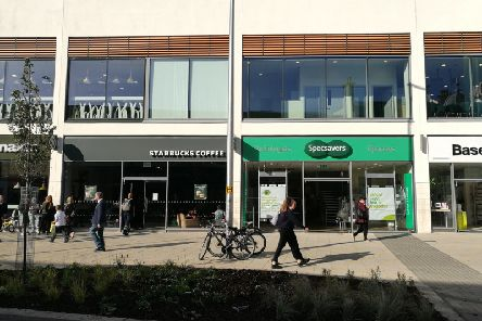 The dispute is between Starbucks and Specsavers
