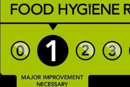 One star food hygiene SUS-191016-105916001