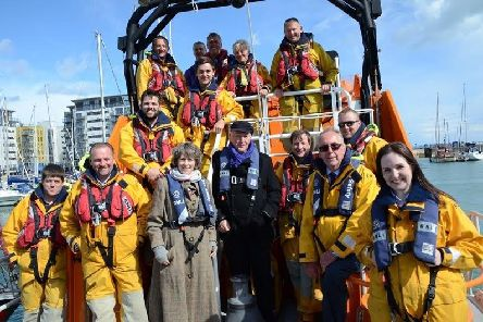 Eastbourne RNLI is starring in Saving Lives at Sea