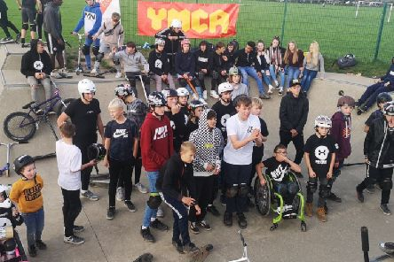Teens got a chance to show off their skills