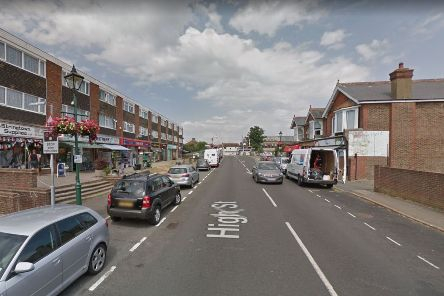 Polegate High Street will be closed tonight (image by Google) SUS-191111-152849001