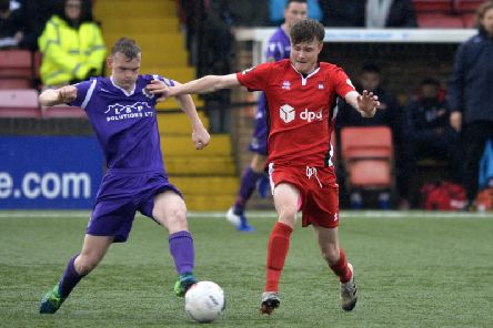 Action from Eastbourne Borough v Dartford. Picture by Jon Rigby