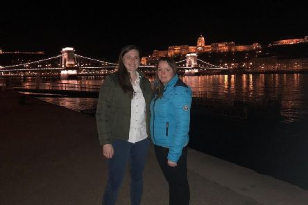 YFCU programmes co-ordinator, Lisa Black, and Spa YFC member, Sarah Dorman travel to Budapest to take part in the 2019 Rural Youth Europe Study Session